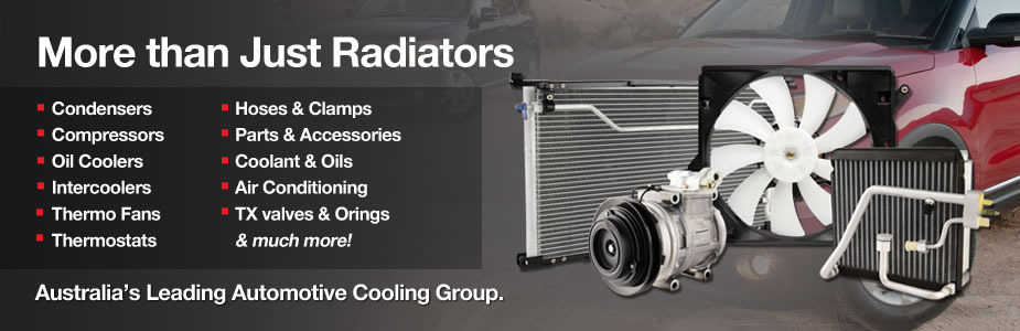More than just radiators - Australia's leading Automotive cooling group