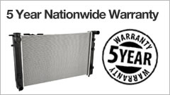 5 year Nationwide warranty * conditions apply