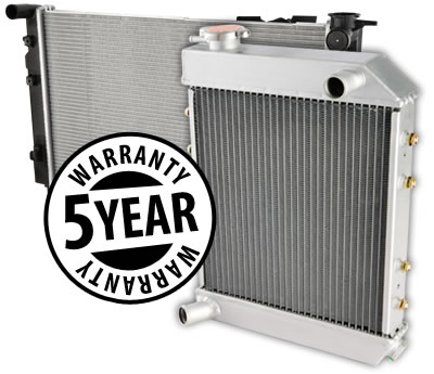 % year Adrad Radiator Experts Warranty - Conditions apply